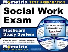 ASWB Flashcards [with ASWB Practice Questions]