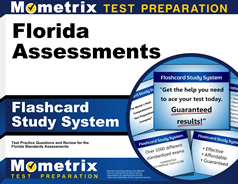Florida Assessments Flashcards [with Florida Assessments
