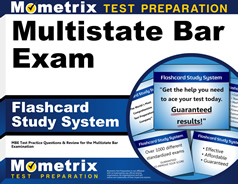Multistate Bar Flashcards [with Multistate Bar Practice